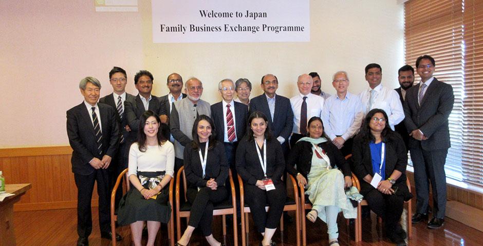 (2)海外のファミリービジネス訪問